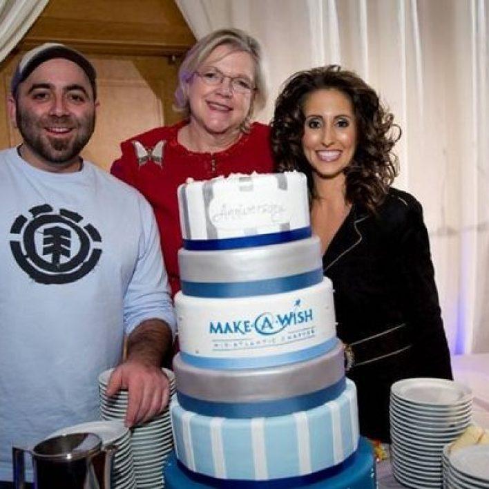 Laura Bryna Honors Make-A-Wish