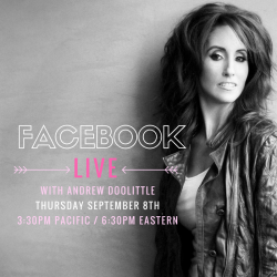 Laura's on Facebook Live Thursday September 8th