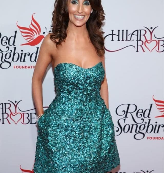 Laura Bryna Attends Hilary Roberts Birthday & The Red Songbird Foundation Launch