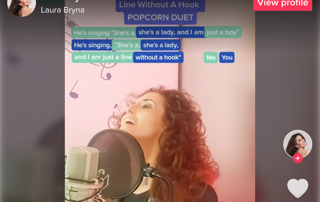 Laura Bryna approaches 1 million views with new TikTok Popcorn Duet